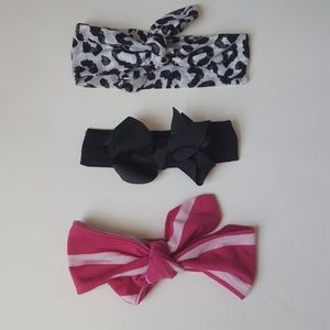 SALE Carters • Set of 3 Headwraps/Bows